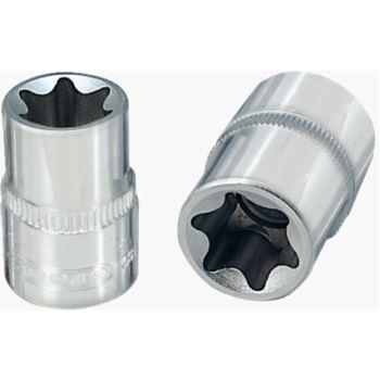 "1/4"" CHROMEplus® TX-E-Stecknuss, E4 918.1582"