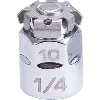 "GEARplus® Bit-Adapter, 1/4""x10mm 503.4290"