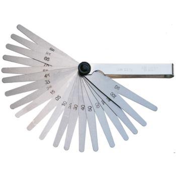 Fühlerlehren DIN 2275 20 Blatt 0,05-1,0 mm vernic