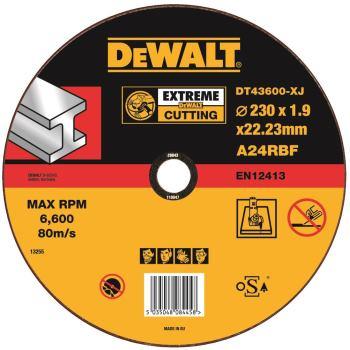 EXTREME Metall-Trennscheibe - flach DT43600