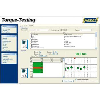 Prüfsoftware HAZET Torque-Testing 7901E-D