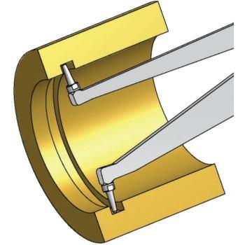 Schnelltaster H260 60 80mm 0,01mm Skw. IP65 f.Inn