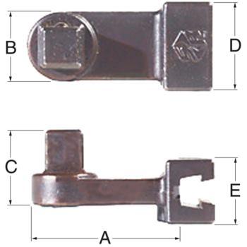 Vierkantabtrieb 1/4 Inch SD-1/4