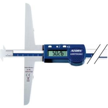 Tiefenmessschieber elektronisch 500 mm 0,01 mm im Etui