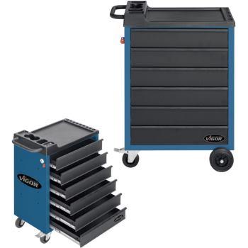 Werkzeugwagen-Vigor500-6-blau