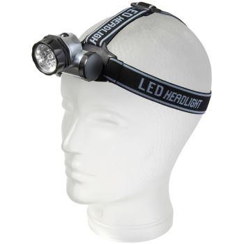 LED-Kopflampe HL 10 10xLED 30lm 3xAAA (enthalten)