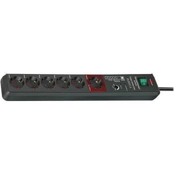 Secure-Tec 19.500A Überspannungsschutz-Automatiksteckdose 6-fach, 3m H05VV-F 3G1,5 1xMaster 5xSlave