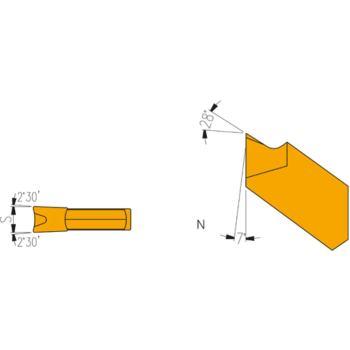 Hartmetall Stecheinsätze KLAN-3 LH 10