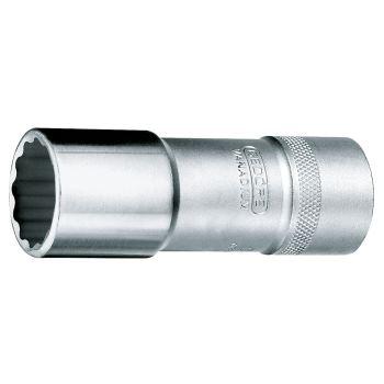 Steckschlüsseleinsatz 19mm 1/2 Inch DIN 3124 lang