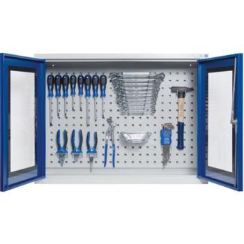Wandhängeschrank HxBxT 600x800x300 mm, Rückwand gl