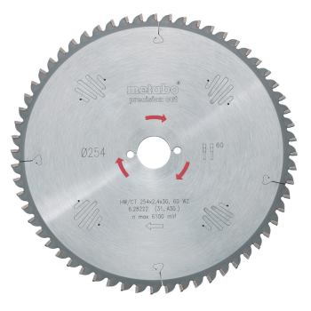 Kreissägeblatt HW/CT 216 x 30 x 2,4/1,8, Zähnezahl
