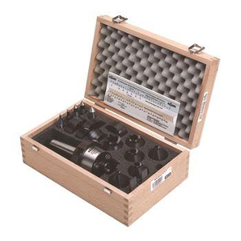Stirnseiten-Mitnehmer Set, CoA, MK6, Spannkreis 10-80mm, Linkslauf