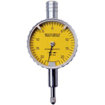 Messuhr mit Freihub 0,01 mm Skalenteilungswert 0,4