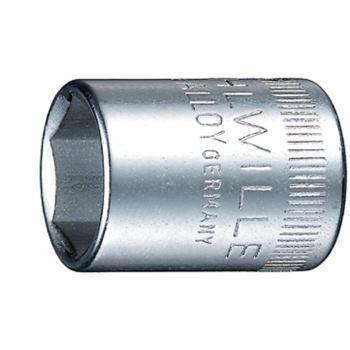 """1/4"""" Zoll Steckschlüsseleinsatz 6 mm DIN 3124"""