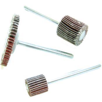 Mini-Fächerschleifer 10 x 10 mm Korn 80 Schaft 3