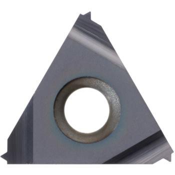 Teilprofil-Wendeschneidplatte Innengew.links 16IL A60 HC6615 Stg.0,5-1,5