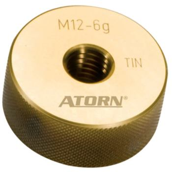 Gewindegutlehrring TiN M18 TiN-beschichtet