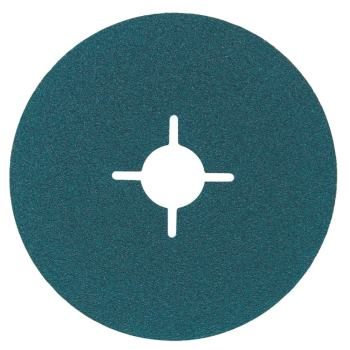 Fiberscheibe 115 mm P 36, Zirkonkorund, Stahl, Ede