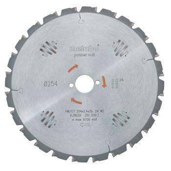 Kreissägeblatt HW/CT 450 x 30 x 3,5/2,5, Zähnezahl