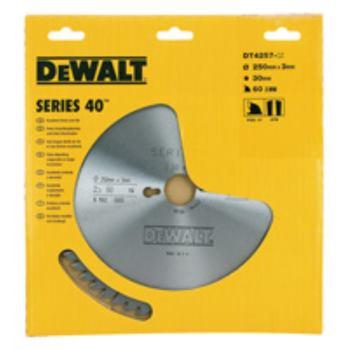 EXTREME DEWALT® Handkreissägeblatt - Fe DT4256 e und Querschnitte