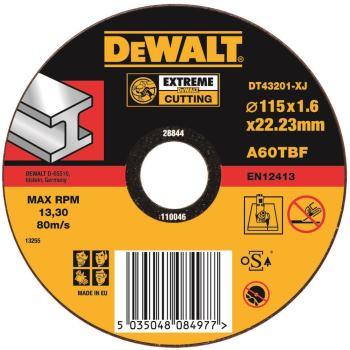 EXTREME Metall-Trennscheibe - flach DT43201
