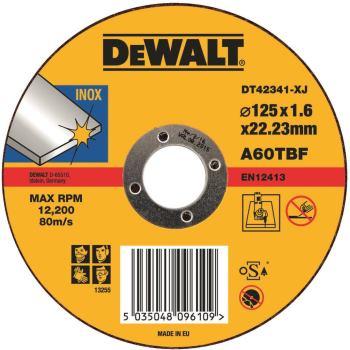 Standard Edelstahl-Trennscheibe - flach DT42341