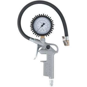 Geeichter Druckluft-Reifenfüllmesser, 0-10 bar 515