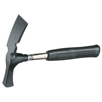 Maurerhammer, Berliner Form, mit Stahlrohrstiel 60 0 g