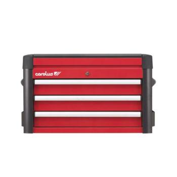 Werkzeugtruhe WINGMAN, 3 Schubladen, rot