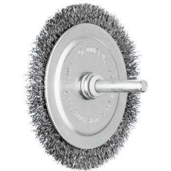 Rundbürste mit Schaft, ungezopft RBU 8004/6 ST 0,20