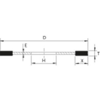 CBN-Schleifwerkzeug 1A1R 150-1-7-20 B151 PHT C75 Auslaufartikel