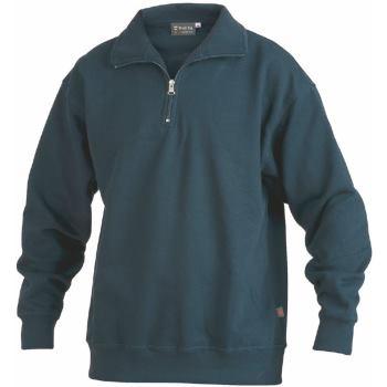 Sweatshirt Zip marine Gr. 5XL