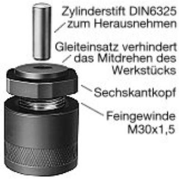 Höhen-Richtschraubbock Ausführung: 86504