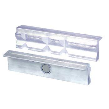Magnet-Schraubstockbacken 140 mm Aluminium mit Pri