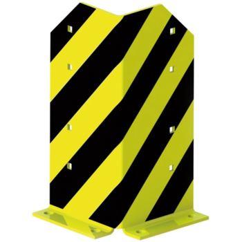 META Rammschutzecke Höhe 400 mm, schwarz/gelb komp