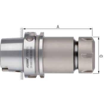 ATORN Spannzangenfutter DIN 6499 HSK-A100 ER25 Dur