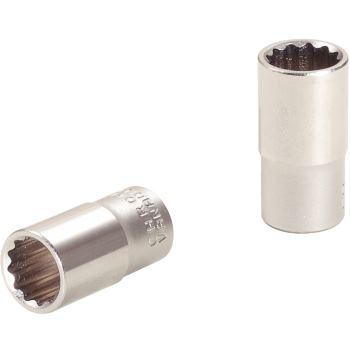 """1/4"""" 12-kant-Stecknuss, 4mm 917.1461"""