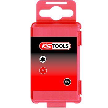 "1/4"" TORSIONpower Bit TX, 75mm, T15, 5er Pack 918."