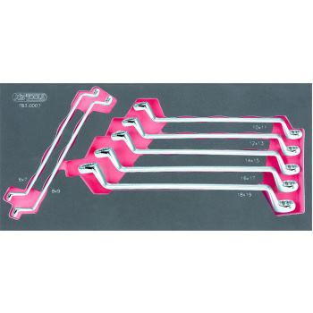Doppel-Ringschlüssel-Satz, 7-tlg. 783.0007
