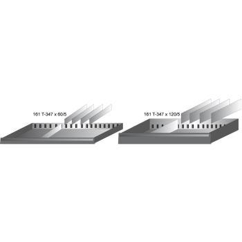 Schubfach-Unterteilung 161T-347X120/5