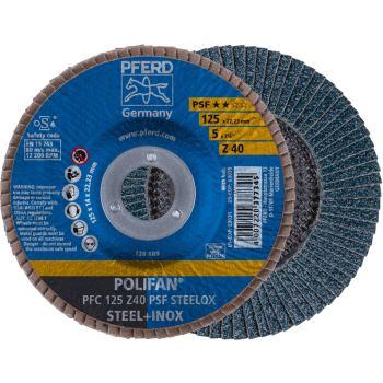 POLIFAN®-Fächerscheibe PFC 125 Z 40 PSF/22,23