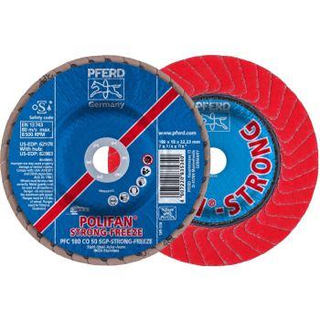 POLIFAN®-Fächerscheibe PFC 180 CO 50 SGP-STRONG-FREEZE/22,23