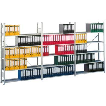 META Bürosteckregal COMPACT 750x 300x 1850 mm Grun