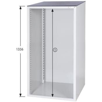 Schrankgehäuse System 700 S, HxBxT 1336x722x700