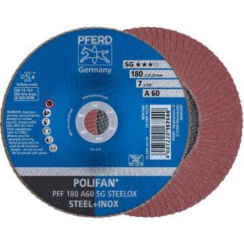 POLIFAN®-Fächerscheibe PFF 180 A 60 SG/22,23