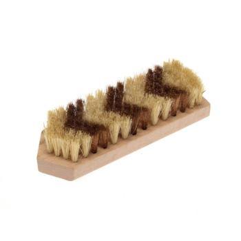 Beizbürsten 150 x 50 mm 7 rhg. Bronzedraht BRO gew. 0,15 mm und Fibre hoch 20 mm