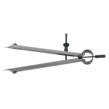 Federspitzzirkel Länge bis Gelenk 125 mm mit ausw