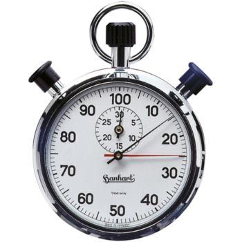 Doppelzeigerstoppuhr AWF2 Einteilung 1/100 Minute