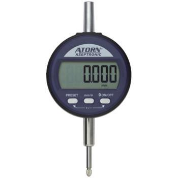 Messuhr mit KEEPTRONIC 12,5 mm 0,001 mm ZW mit Dat enausgang multiCOM