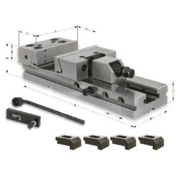 Maschinen-Schraubstöcke MSR, Backenbreite 150, Spannweite 200